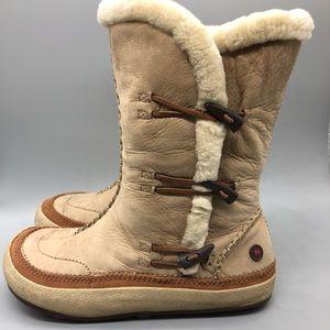 Merrell Spirit Tibet High Timber Sherpa boots
